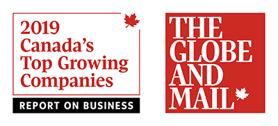 Globe and Mail - Canada's Top Growing Companies 2019
