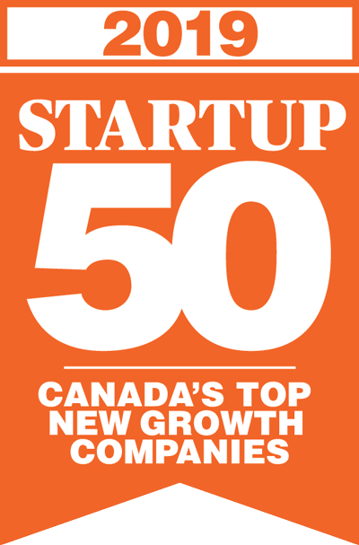 2019 Startup 50 - Canada's Top New Growth Companies